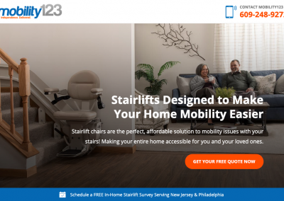 Landing Page – Mobility123