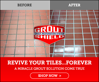 Banner Ad Design – Grout Shield